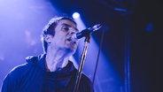 Das Bild zeigt den Sänger Liam Gallagher bei einem Konzert. © imago / ZUMA Press Foto: ZUMA Press