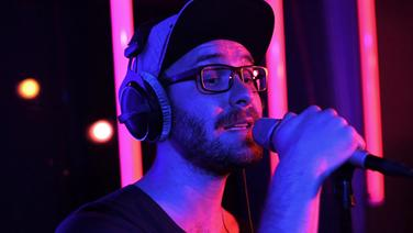 Screenshot: Mark Forster in der N-JOY Livelounge © NDR