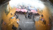 Eine Diskokugel auf dem Reeperbahnfestival © NDR Fotograf: Benjamin Hüllenkremer