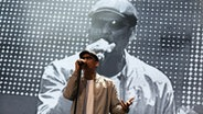 Xavier Naidoo auf der Waldbühne in Berlin am 27.07.2014 © picture alliance/POP-EYE Fotograf: POP-EYE/Kriemann