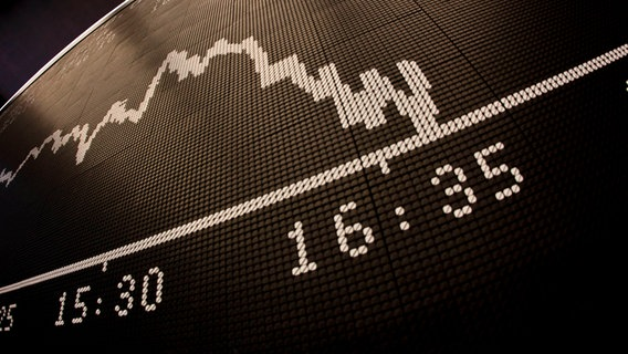 Börsenkurve © dpa