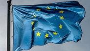 Die Flagge der Europäischen Union © dpa - Bildfunk Fotograf: Marijan Murat