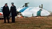 Lockerbie nach dem Flugzeugabsturz 1988 © dpa - Fotoreport