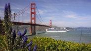 Die Golden Gate Bridge in San Francisco. © imago/alimdi
