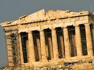 Der Parthenon-Tempel auf dem Akropolis-Hügel in Athen © dpa