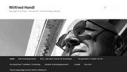 Der Blog von Scientology-Aussteiger Winfried Handl. © NDR Fotograf: Screenshot