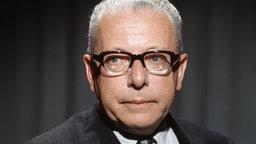 Alt-Bundespräsident Gustav Heinemann © dpa