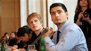 Teilnehmer der Jugend Islamkonferenz © Stiftung Mercator Fotograf: Dirk Enters