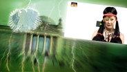 Montage: Neu im Bundestag / Angela Merkel © NDR Foto: Screenshot