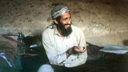 Osama Bin Laden, Chef des Terrornetzwerks Al Kaida © dpa - Bildfunk