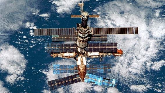 Die Raumstation Mir © picture-alliance / dpa