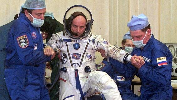 Weltraumtourist Dennis Tito © picture-alliance / dpa