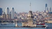 Der Leuchtturm Kiz Kulesi in Istanbul © imago stock&people