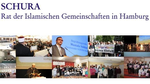 Ein Screenshot der Homepage des Rat der Islamischen Gemeinschaften in Hamburg e.V. © Rat der Islamischen Gemeinschaften in Hamburg e.V.