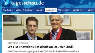 Screenshot: tagesschau.de © tagesschau.de