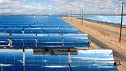 Ein Solarthermie-Kraftwerk.