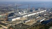 Der Unglücks-Reaktor in Tschernobyl. © dpa-Bildfunk Fotograf: Mykola Lazarenko/Pool