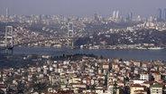 Istanbul, größte Stadt in der Türkei © dpa