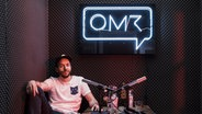"Zu sehen ist Philipp Westermeyer vom Podcast ""OMR Podcast"". © OMR Foto: OMR"