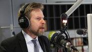 N-JOY Wellenchef Norbert Grundei im Interview. © NDR