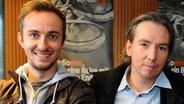 Jan Böhmermann und Olli Schulz © rbb/Oliver Ziebe Foto: rbb/Oliver Ziebe