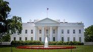 Zu sehen ist das Weiße Haus in Washington. © picture alliance / dpa Foto: Patrick van Katwijk